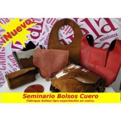 fabricación de bolsos en cuero