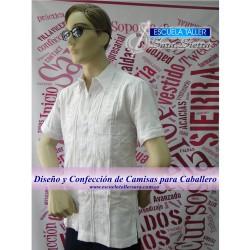 Diseño y Confección de Camisas para Caballero