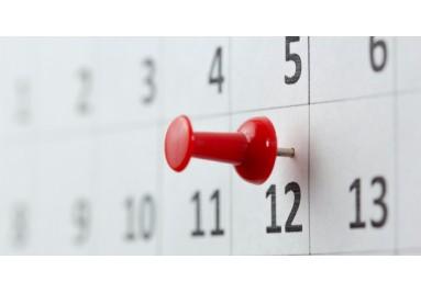 Calendario de Eventos Escuela Taller Sara